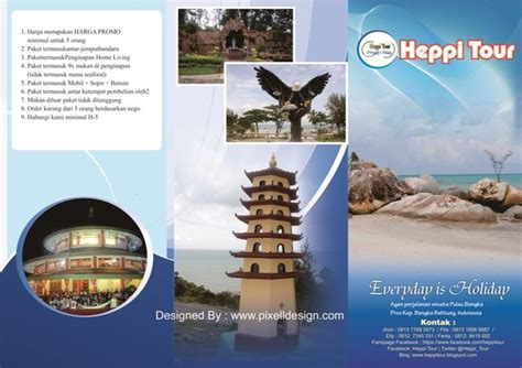 desain brosur wisata desain brosur wisata travel agen image 4371853 by
