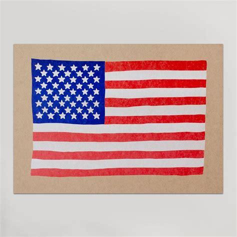 printable flag poster letterpress prints hammerpress