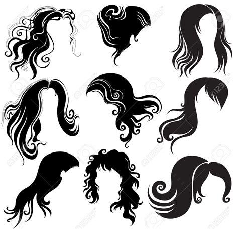 Hair Clip Stylist Curly And hair clipart big hair pencil and in color hair clipart big hair