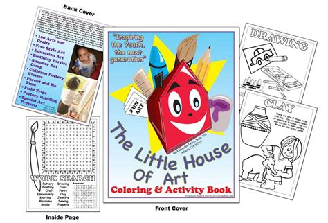 little house of art coloring books the little house of art