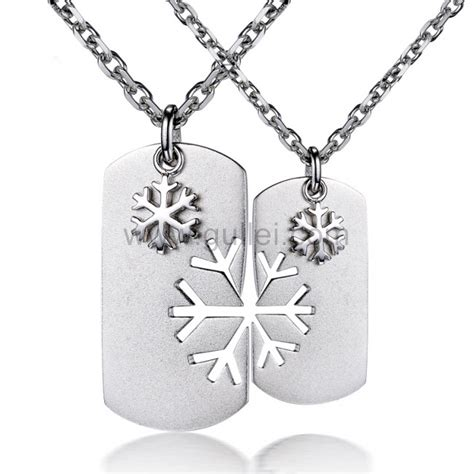 engraved couples pendants jewelry for him and