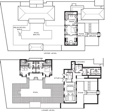 3 bedroom villa floor plans 3 bedroom garden residence villa accommodation four