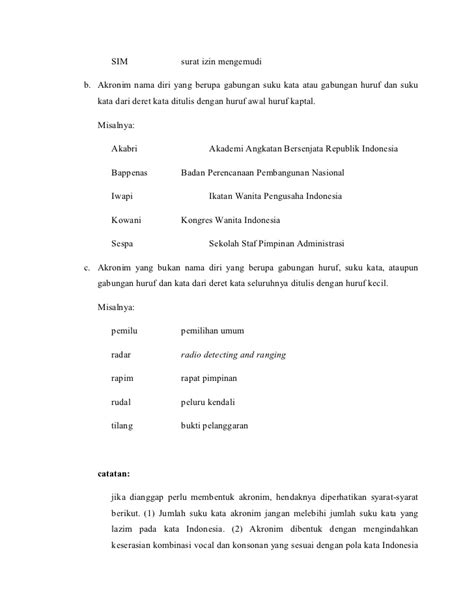 pedoman umum ejaan yang disempurnakan eyd