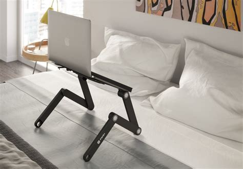 laptop desks for bed top 10 best laptop bed table desks of 2018 reviews