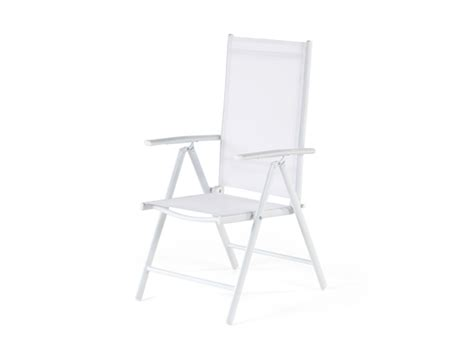 Folding Chair Gif by Aluminium Dining Set With 6 Folding Chairs White Catania