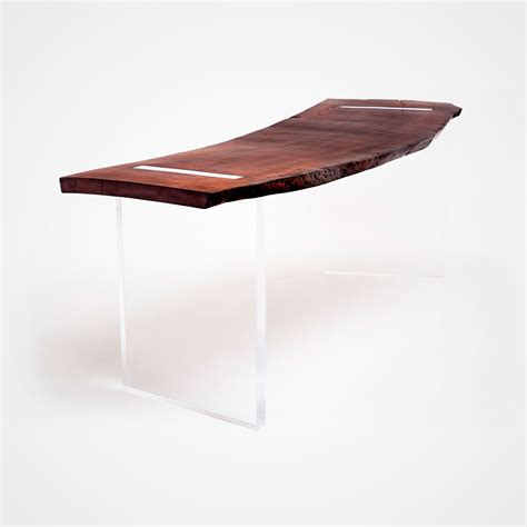woodworking float reclaimed wood floating desk rotsen furniture