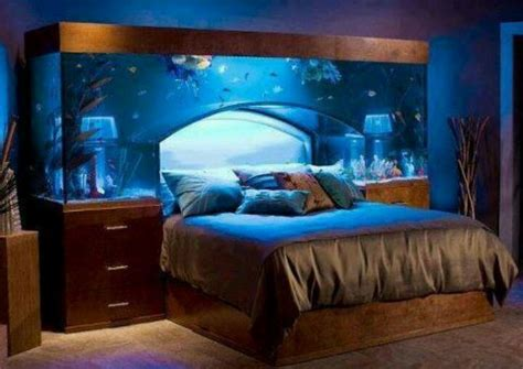 bed aquarium headboard awesome idea fish tank bed frame that one board pinterest