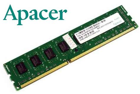 Ram Ddr3 Apacer memory ram apacer 4gb pc3 unb 10600r ddr3 1333mhz desktop memory ram was sold for r349 00 on