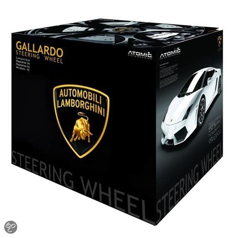 bol gallardo lamborghini steering wheel pc ps3