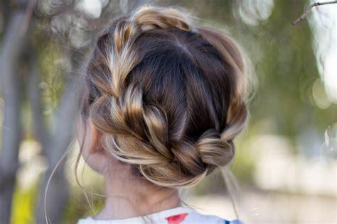 Crown Hairstyle by Pull Thru Crown Braid Hairstyles