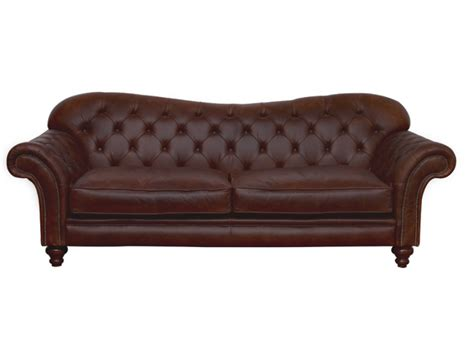 Chesterfield Leather Sofas Crompton Large Chesterfield Sofa Leather Sofas