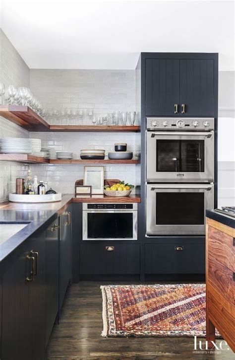kitchen with shelves no cabinets best 25 floating shelves kitchen ideas on