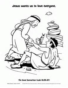 samaritan coloring page samaritan coloring pages coloring home