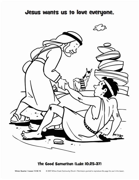 coloring page for good samaritan good samaritan coloring pages coloring home