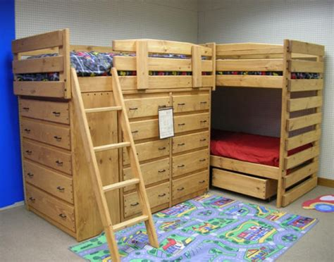 triple bunk beds triple bunk bed plans l shaped plans diy free download