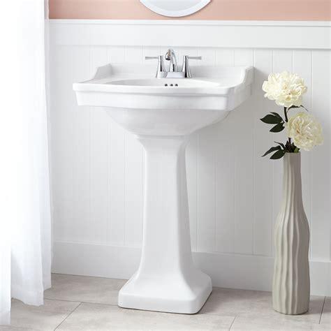 Sink And Toilet by Cierra Porcelain Pedestal Sink Bathroom