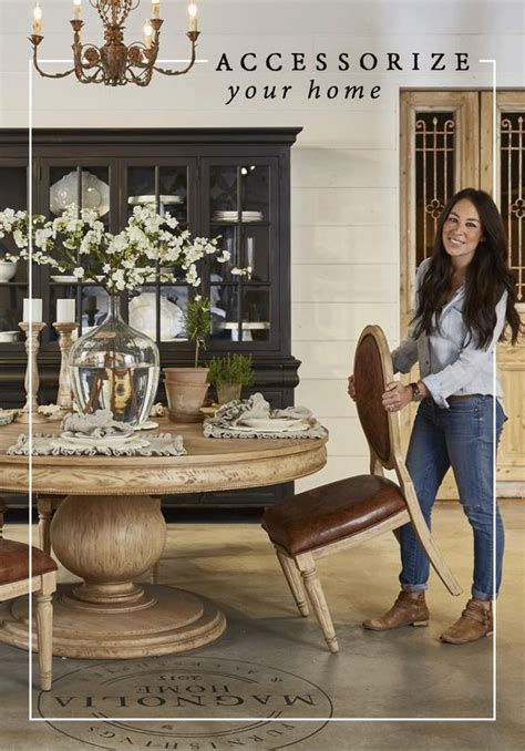 how to dress a dining room table accessorize your home with joanna s line of accessories