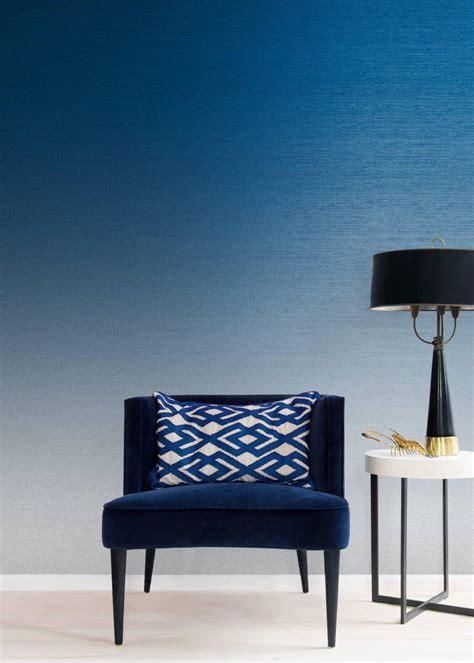 calico wallpaper wallpaper brasscloth cobalt textured
