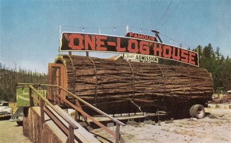 buy log house the famous one log house buy redwood