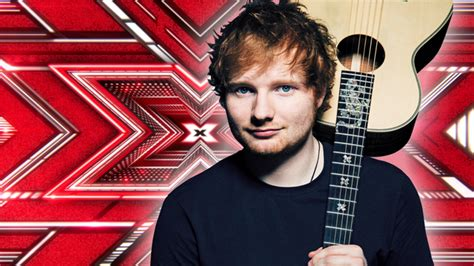 ed sheeran x factor winner ed sheeran could be writing the x factor winner s single