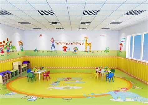 Design of room decoration, kindergarten classroom design