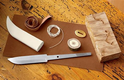 Cheap Kitchen Knives Set orvis knife making kit lets you build your own puuca knife