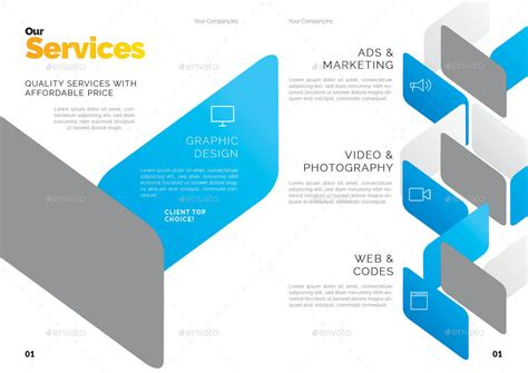 creative company profile layout creative company profile by shamcanggih graphicriver