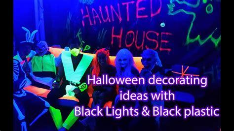 black light decorations decorating idea with uv black light