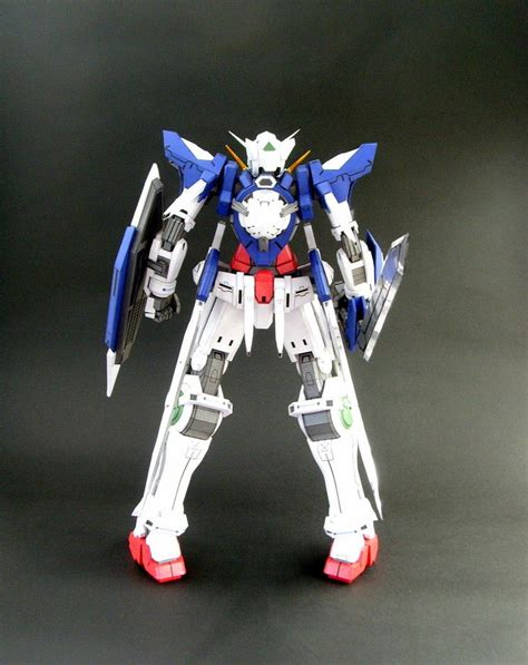 Gundam Exia Papercraft - mobile suit gundam 00 paper crafts