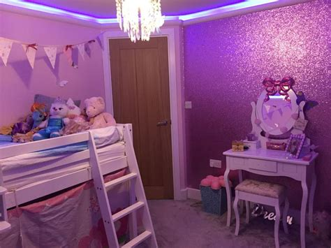 sparkle bedroom little girls pink glitter bedroom ava s bedroom