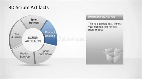 Agile Artifacts Templates by 3d Agile Scrum Artifacts Powerpoint Diagram Product