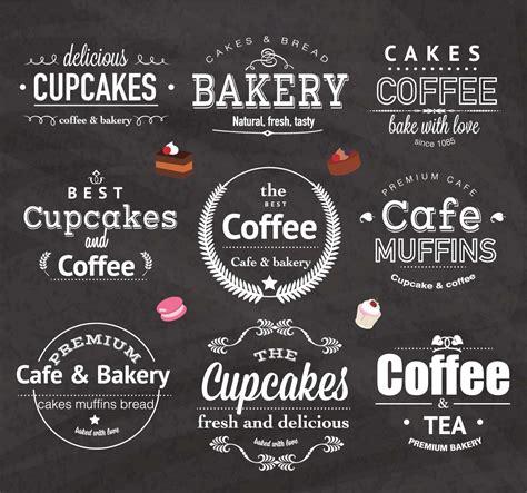 Home Decoration Software Free Download by Vintage Bakery Cafe Logo Design Set Vector Free Download