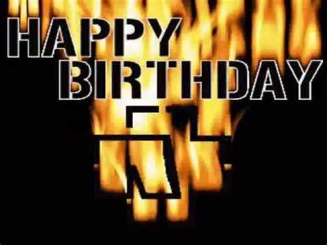 imagenes rockeras de cumpleaños para facebook feliz cumple a mi estilo rock youtube