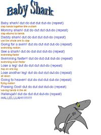 baby shark lullaby baby shark thank you bro kevin for teaching me this