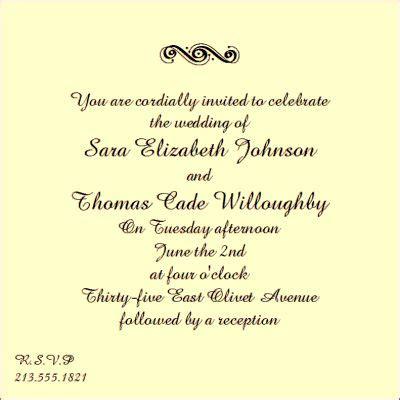 wording for wedding invitation friends wedding invitation wordings to friends wedding