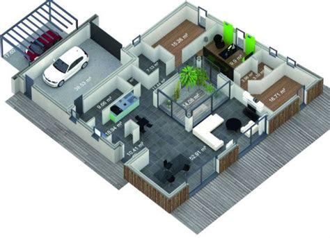 plan maison patio central les 53 meilleures images du tableau maison patio sur