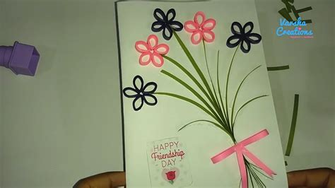 Handmade Card Designs For Friend - how to make handmade greetings for friends friendship