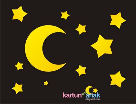 wallpaper bintang kartun bintang dan bulan indah