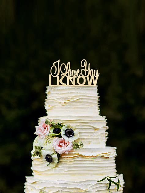 Hochzeitstorte Wars by I You I Wedding Cake Topper Wars Inspired Wood