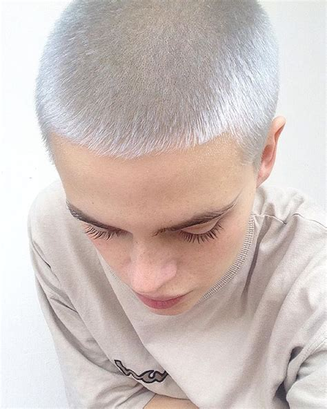 women getting crew cut haircuts die 1326 besten bilder zu hair short shorter shaved