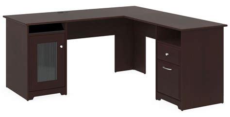 60 watt desk l cabot harvest cherry 60 quot l desk from bush wc31430 03k
