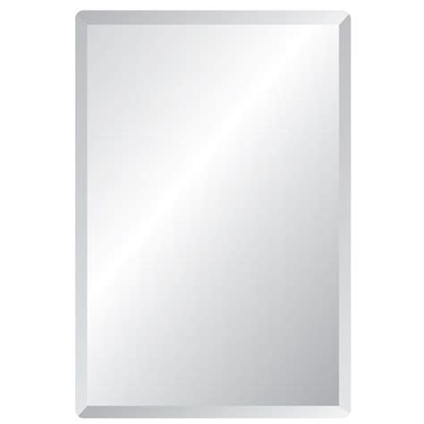 Bathroom Mirror Edging | spancraft regency 30 x 40 rectangular beveled edge mirror