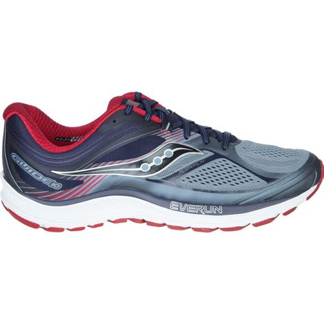 light stability running shoes saucony guide 10 light stability running shoe s