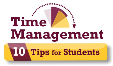 Time Management For Mba Students by 10 Time Management Tips For Students Central Michigan