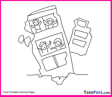 Earthquake Coloring Pages | free coloring pages of to earthquake