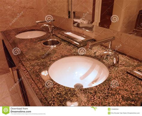 Fancy Bathroom Sinks by Fancy Bathroom Sinks Editorial Stock Image Image Of Clean