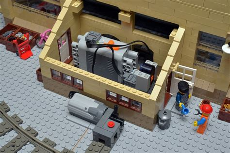 Country House Designs interview with huw millington brickton a moc lego city
