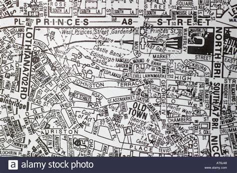 printable maps edinburgh city centre city centre map of edinburgh scotland in black and white