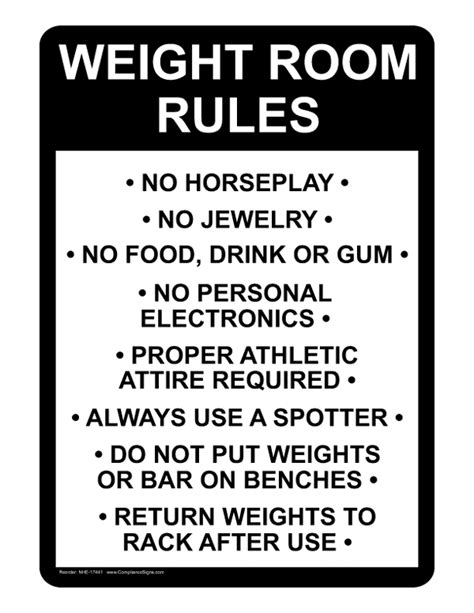 rule the room hssc 17 weightroom organization safety and policies and procedures high school strength coach
