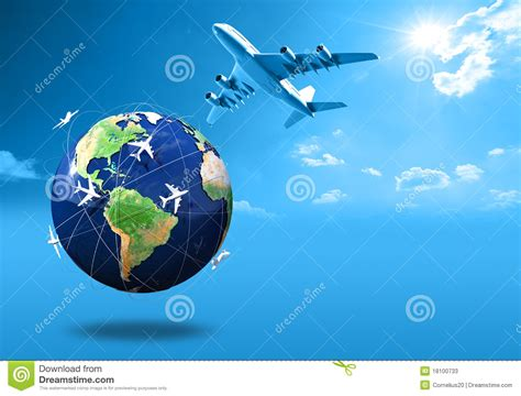 air travel stock illustration illustration of mountains 18100733